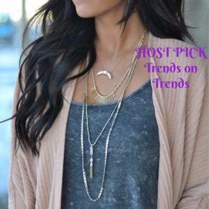 💖HP💖 stella & dot ~ riad layering necklace